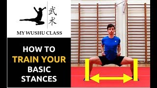 Wushu Basic Stances Tutorial - Jibengong