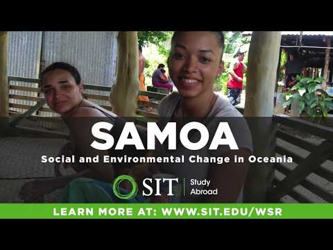 SIT Study Abroad Samoa: Social and Environmental Change in Oceania