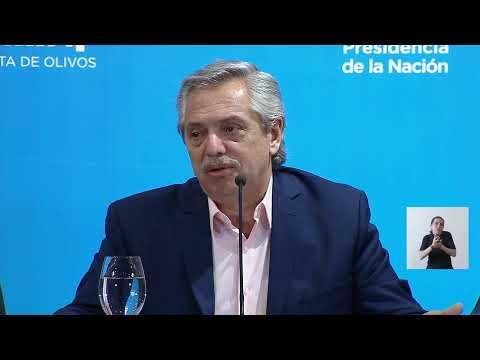 Alberto Fernández anunció la suspensión de las clases y el cierre de fronteras por 15 días
