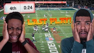 The Most COMPETITIVE Final Minute Of The WHOLE Series! It Comes Down To The Last Play! (Madden 20)
