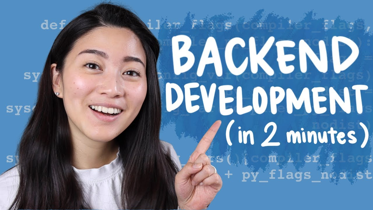 Backend Development explained in 2 minutes // Tech in 2
