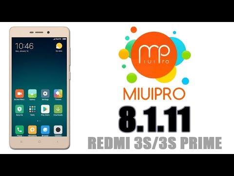 REDMI 3S/3S PRIME/3X    MIUI PRO 8 1 25    DOWNLOAD LINKS & REVIEW