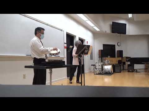 Recent video of me performing with percussionist Daniel Smithiger on Romance from Le Tombeau de Mireille by Henri Tomasi.
