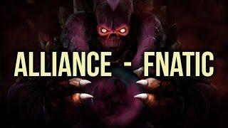 Fnatic vs Alliance Highlights Starladder 13 Group Stage Dota 2