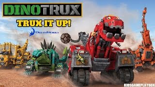 DINOTRUX Trux it Up App Full Game Android / iOS Gameplay