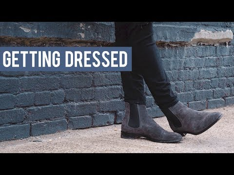 Men's Chelsea Boot Outfit Inspiration | Getting Dressed (Outfits Step by Step #18)