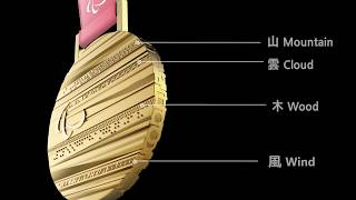 (JPN/ENG) 2018平昌冬季パラリンピック大会 メダル公開 | Medals for the PyeongChang 2018 Paralympic Winter Games