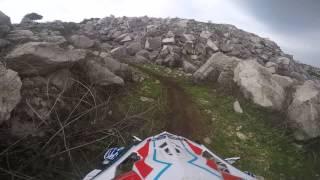 preview picture of video 'Assoluti di Sicilia Enduro, Custonaci - Controllo Tirato 2° Giro - GoPro Hero 4 Black'