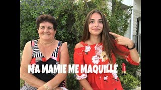 MA MAMIE ME MAQUILLE