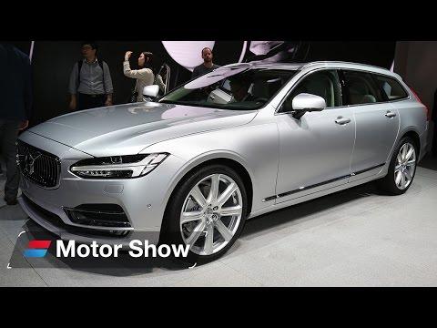 Volvo V90 vs Kia Optima Sportswagon – 2016 Geneva Motor Show