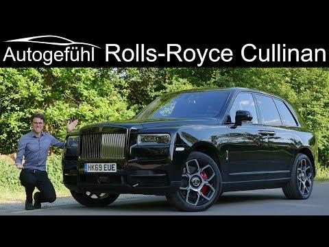 External Review Video cbWoQW8E4VU for Rolls-Royce Cullinan SUV