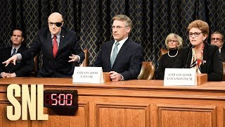 Days of Our Impeachment Cold Open - SNL