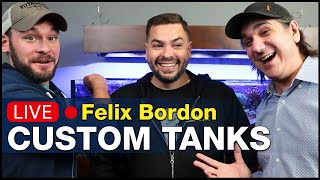 Ep9.1- Talking custom reef tanks with Reef Savvy founder Felix Bordon | BRS360