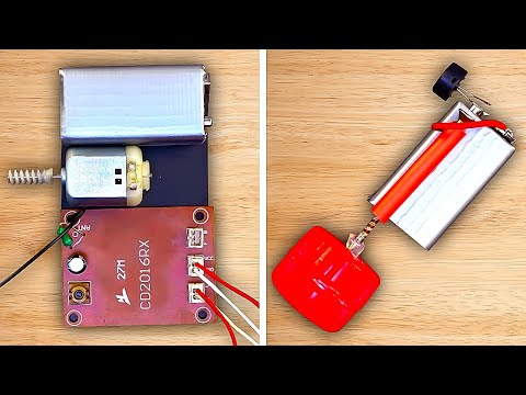 24 ELECTRIC INVENTIONS you can make for your home
