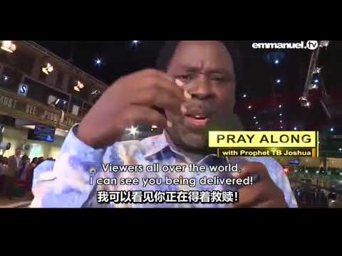 Download Powerful Healing Prayer Tb Joshua Mp4 & 3gp | NetNaija