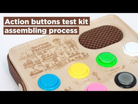 Guy Builds Gorgeous Sequencer Just To Test Video Game Arcade Buttons