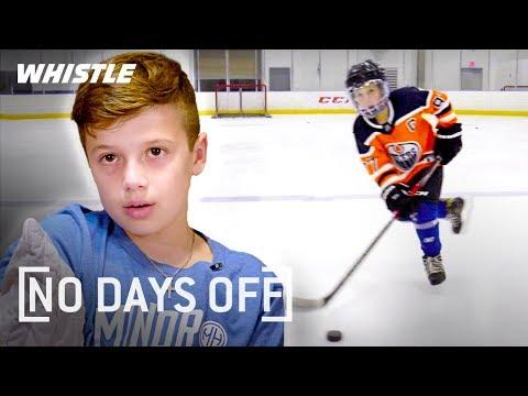 9-Year-Old UNREAL Hockey Skills | Next Sidney Crosby?