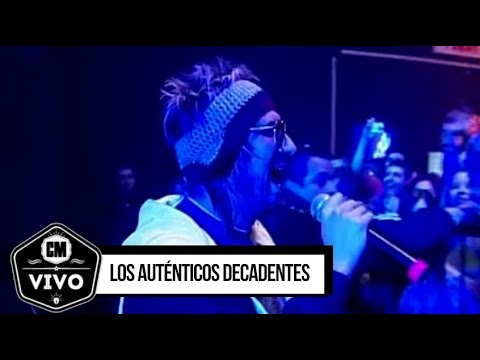 Los Auténticos Decadentes video CM Vivo 2007 - Show Completo