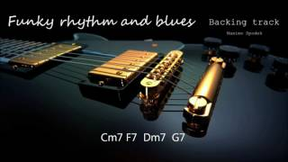 FUNKY RHYTHM AND BLUES IN C BACKING TRACK