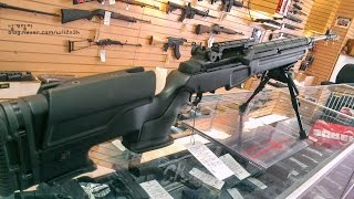 Springfield M1A 7.62mm NATO JAE-100 Polymer Stock Custom Rifle