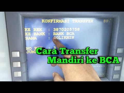 "Cara Transfer Mandiri ke BCA di Mesin ATM  - ""Versi Baru"""