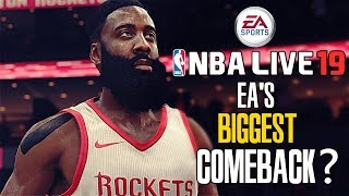 EA Taking Back the Basketball Throne with NBA Live 19?