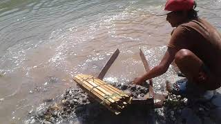 Gold Rush In Bank Of Nepali River Part 1