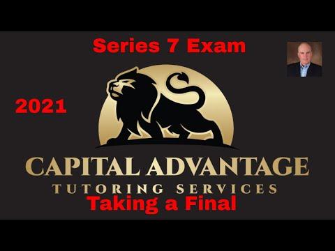 Series 7 exam prep ( taking a final) - YouTube