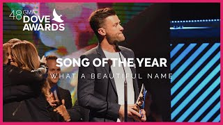 """""""What A Beautiful Name"""" Wins Song Of The Year"""