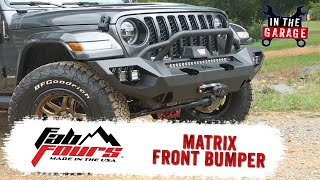 In the Garage Video: Fab Fours Matrix Front Bumper
