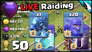 *TH12 RAIDING* with Electrone and GoBoBat | 50 Cup Offer! | Clash of Clans