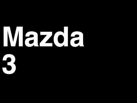 Mazda | Car Fix DIY Videos