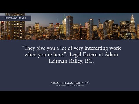 """""""They Give You a Lot of Very Interesting Work When You're Here."""" testimonial video thumbnail"""