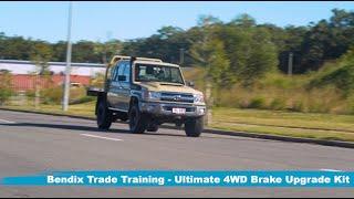 Bendix Ultimate 4WD Brake Upgrade Kit Trade Install Guide