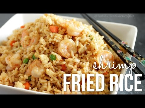 Video How to Make Shrimp Fried Rice!! Chinese Fried Rice Recipe