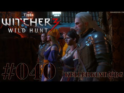 The Witcher 3 [HD|60FPS] #040 Das Theaterstück ★ Let's Play The Witcher 3