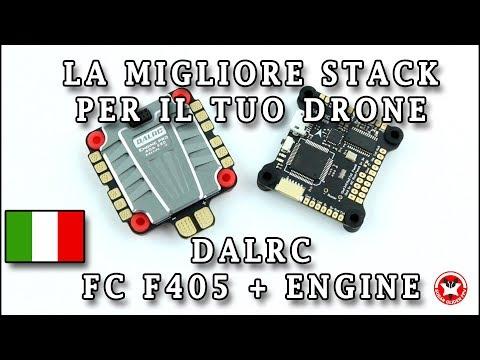 La migliore combinazione Flight Controller + ESC 4in1 // Dalrc F405 + Dalrc Engine ESC