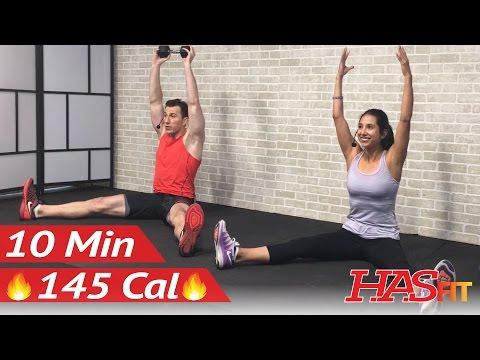 10 Min Oblique Workout to Get Rid of Love Handles - Oblique Exercises Lose Love Handles Men & Women
