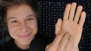 ASMR hand sounds