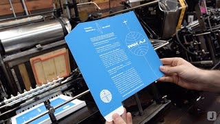 Pan Am Inspired Destination Wedding Invitation | Part 1: Screen Printing & Die Cutting