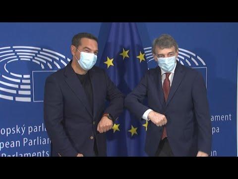 Οι επαφές του προέδρου του ΣΥΡΙΖΑ – ΠΣ Αλέξη Τσίπρα στις Βρυξέλλες
