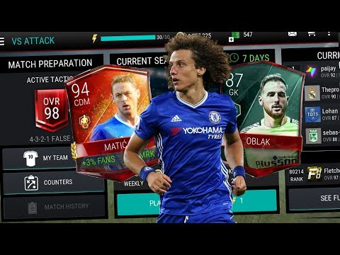 Video FIFA MOBILE NEW VS ATTACK MODE GAMEPLAY!!! | CLAIMING 94 CDM MATIC & VS 87 GK OBLAK!!! | #FIFAMobile