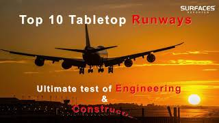 Top 10 Tabletop Runways | Ultimate test of Engineering & Construction | Surfaces Reporter Exclusive