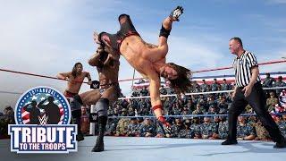 AJ Styles, Orton & Nakamura vs. Jinder Mahal, Kevin Owens & Sami Zayn: Tribute to the Troops 2017