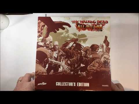 TWD: AOW Collector's Edition Unboxing