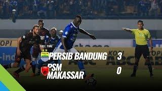 Video Aksi Duet Maut Striker Persib Hancurkan PSM 3-0