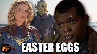 Gambar cover Captain Marvel Teaser/First Look Breakdown (Easter Eggs, Cameos, & Explanations)