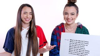 Merrell Twins Answer the Web's Most Searched Questions