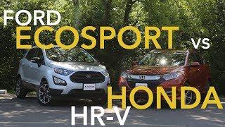 Ford EcoSport vs Honda HR-V Comparison