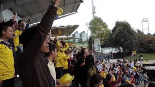 preview picture of video '¡Celebración del triunfo de Colombia en el #PalcoMundialista de Mundo Aventura!'